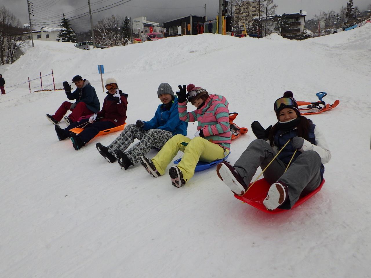 スノーボードサークル